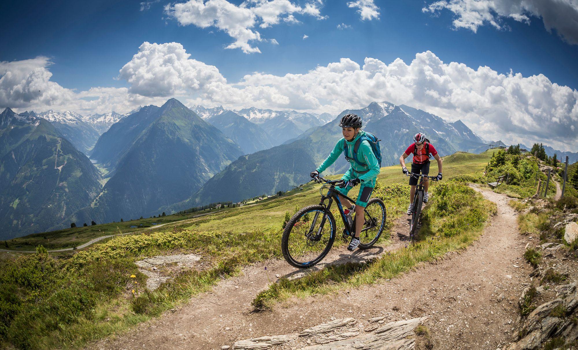 Singletrails und Mountainbiktouren im Zillertal