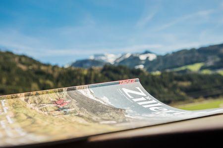 Aussicht auf die Zillertaler Berge